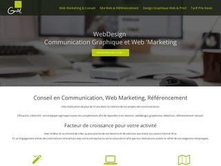 screenshot http://www.grafisan.fr Création de sites internet nantes
