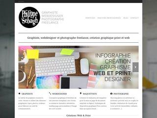 screenshot http://www.graphiste-libre.com Philouseb graphiste webdesigner freelance