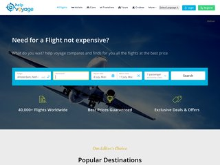 screenshot http://www.helpvoyage.com Helpvoyage