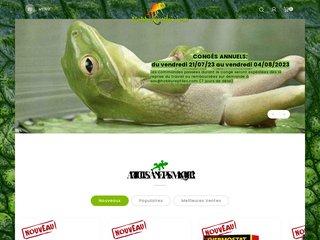 screenshot http://www.hobbyreptiles.com/ Hobbyreptiles.com animalerie spécialisée en reptil