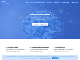 screenshot http://www.hypnoprocess.fr Hypnose et coaching