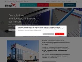 screenshot http://www.ineltec.fr