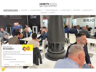 L'Agence commerciale Jacques Pipard Distribution distribue sur la France et la Belgique depuis 2017 Morettidesign fabricant Italien de poêles, à granulés, bois, design et contemporains.