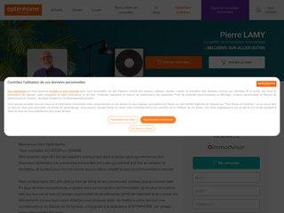 Immobilier sur le bassin de Vichy, agent mandataire Optimhome formé pour l'ancien, les biens constructibles ou non, le neuf (VEFA) et les commerces tout type. Recherche locataire et gestion