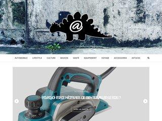 screenshot http://www.ledosaure.fr/ Ampoule led