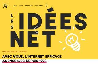 screenshot http://www.lesideesnet.com