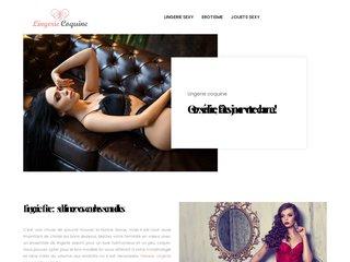 screenshot http://www.lingeriecoquine.ch Lingerie coquine