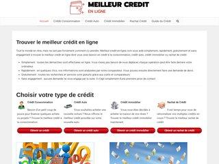 screenshot http://www.meilleur-credit-en-ligne.com <title>ANNUAIRE NOOGLE.  webmaster connect</title>