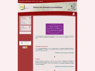 screenshot http://www.memotherapie.fr Formation de mémothérapeuthe, ostéopathe poyet, na