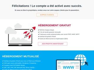 screenshot http://www.nextline.ma Webzine nextline