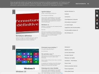 screenshot http://www.nginformatique.fr Nginformatique