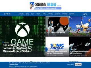 screenshot http://www.objectif-sega.com Objectif-sega