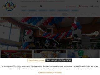 screenshot http://www.olevents.fr Articles de fêtes et de décoration