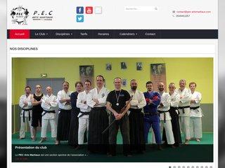 screenshot http://www.pec-artsmartiaux.com Pec arts martiaux