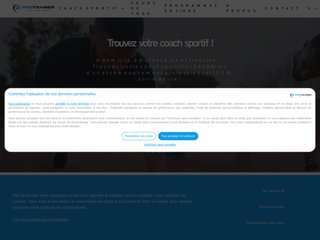 screenshot http://www.personal-sport-trainer.com <title>ANNUAIRE NOOGLE.  webmaster connect</title>
