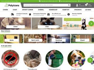 screenshot http://www.polytrans.fr Polytrans pour tous ceux qui ont du flair