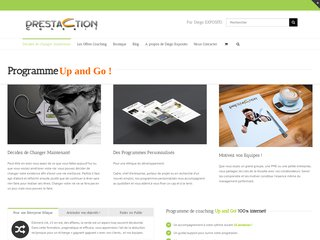 screenshot http://www.prestaction-mp.com Prestaction conseils aux entreprises, formation