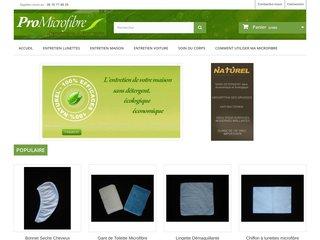 screenshot http://www.promicrofibre.fr