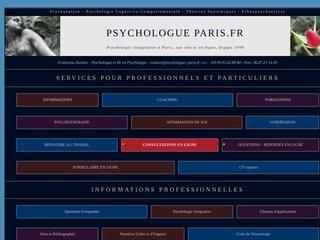 screenshot http://www.psychologue--paris.fr <title>ANNUAIRE NOOGLE.  webmaster connect</title>