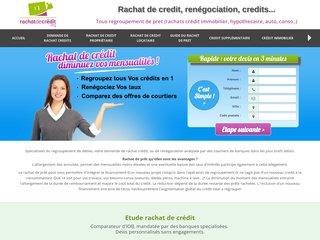 screenshot http://www.rachatdecredit.org Rachat de credits tous crédits