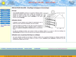 screenshot http://www.reflecteur-solaire.fr <title>EVO:   webmaster connect</title>