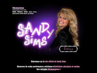 screenshot http://www.sandysims.com Sandy sims sosies de stars imitations