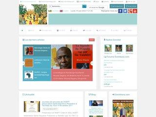 screenshot http://www.soninkara.com Soninkara.com