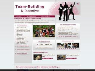 screenshot http://www.teambuilding-incentive.com