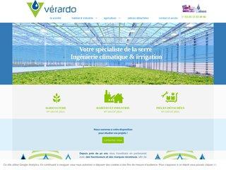 screenshot http://www.verardo.fr Verardo s.a.s