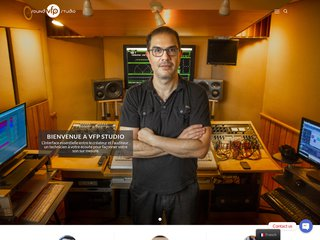 screenshot http://www.vfp-studio.com Vfp sound studio mixage et mastering en ligne