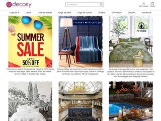 Decosy.fr – Linge de maison et décoration on line.