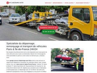 N°1 Allo Dépannage Automobile Paris IDF 7j/7 24h/24