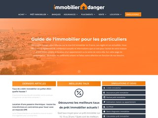 screenshot https://www.immobilier-danger.com <title>ANNUAIRE NOOGLE.  webmaster connect</title>