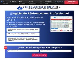 Logiciel de Référencement 100% automatique pour Google, Yahoo et Bing !