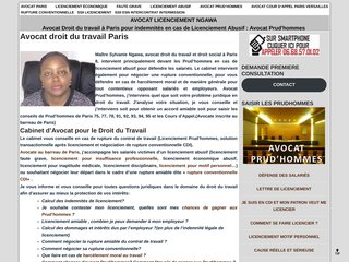 screenshot https://www.ngawa-avocat-paris.fr <title>ANNUAIRE NOOGLE.  webmaster connect</title>