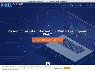 screenshot https://www.pixel-online.fr