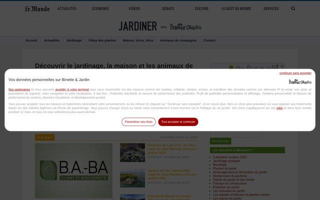 Binette & Jardin