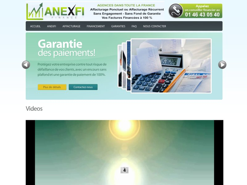 Anexfi - Finance | Affacturage, Escompte, Dailly, Factoring