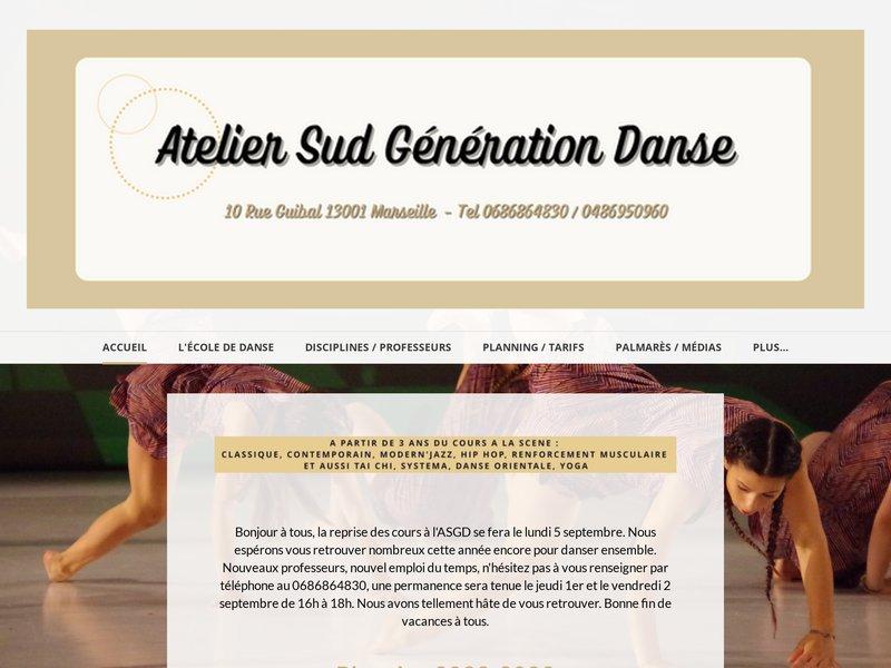 Cours de danse ASGD Marseille , contemporain,hip hop,classique,jazz...