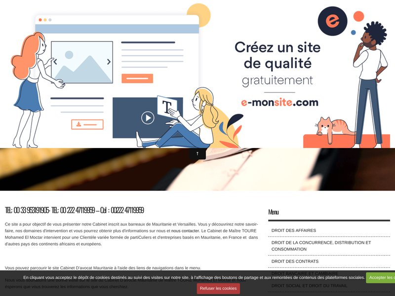 MAÎTRE TOURE MOCTAR - CABINET D'AVOCAT EN MAURITANIE