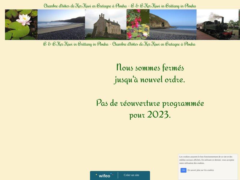 Chambre d'hotes de Ker Kiwi en Bretagne à Plouha
