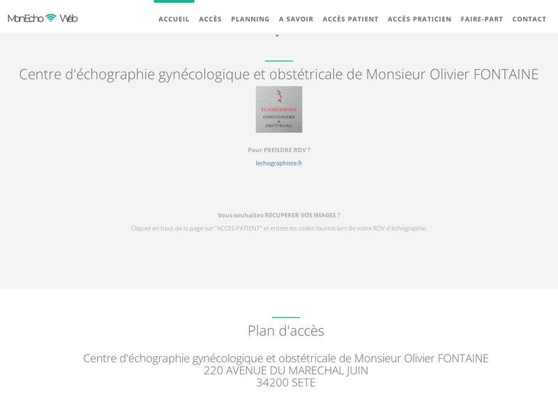 Centre d'Echographie gynécologique et obstétricale d'Olivier FONTAINE
