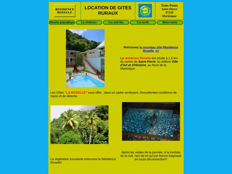 Location Martinique