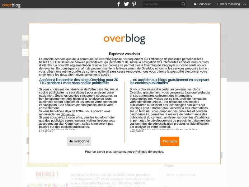 """Blog participatif de la liste """"L'Hôpital-Camfrout, avec vous"""" Elections municipales et communautaires 2014"""