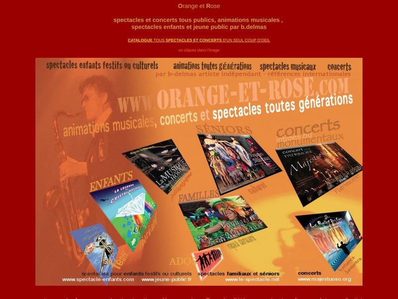 Spectacles musicaux et concerts