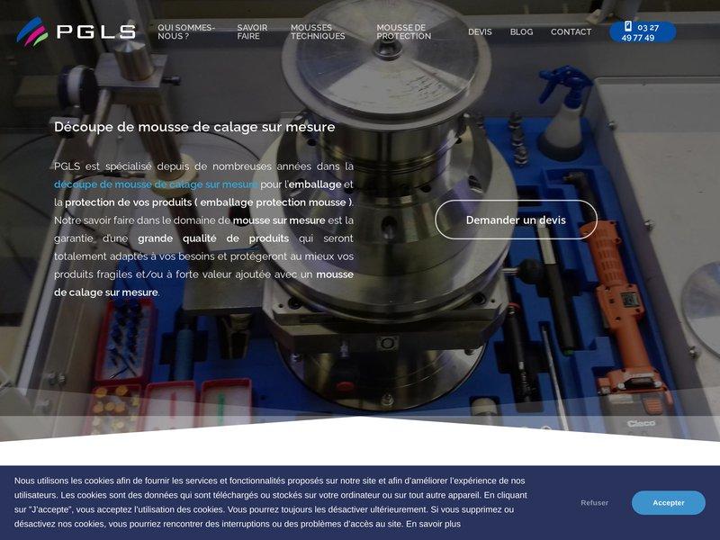 PGLS - Mousse de calage et de protection
