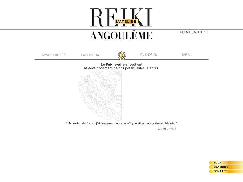 Reiki Angoulem l'Atelier