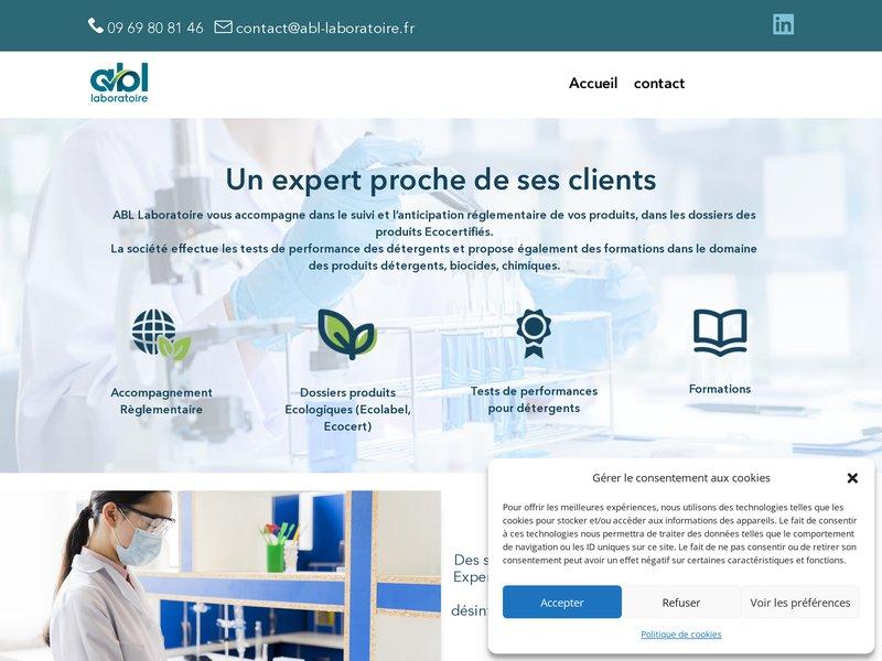 ABl-laboratoire.fr Expert scientifique et r
