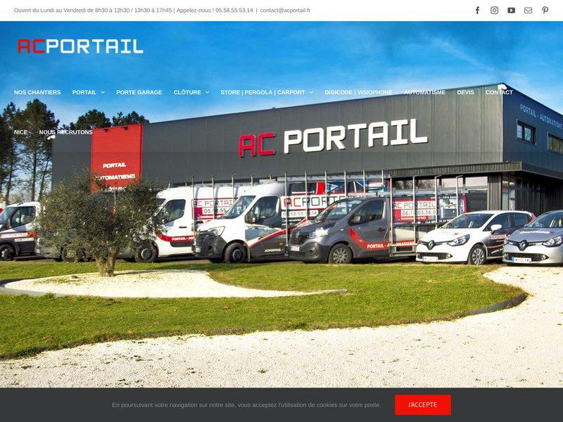AC-PORTAIL Aluminium | Clôture | Automatisme | Landes - Dax - Bayonne - Biarritz