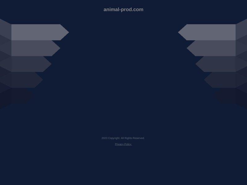 Animalerie en ligne animal prod